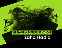 Logo for Zaha Hadid