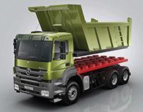 Print Campaign Mercedes-Benz Trucks