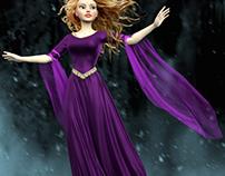 Marvelous Designer Dress Tutorial in 3D World Issue 205