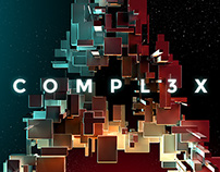 COMPL3X - Futuristic 3D Alphabet Kit for Photoshop