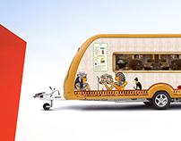 Caravan Restaurant Design