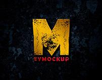 Free Dark Gold Logo Mockup
