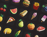 Low Poly Icon Pack