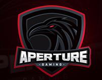Aperture Gaming - esports logo - Jersey Design
