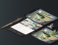 Modern Business Flyer & Presentation Folder - Gaze