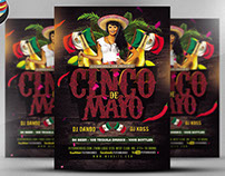 Cinco De Mayo Flyer Template V2 2017