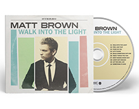 Matt Brown - Walk Into The Light Digipak CD Artwork