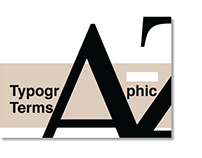 Layout design typographic glossary