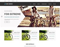 WS Bikes WooCommerce WordPress theme