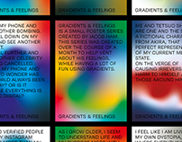 Gradients & Feelings - Poster Series, Normal
