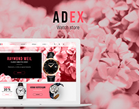Adaptive online watch store