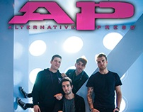 Mock Issue of Alternative Press Magazine