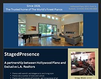 Sales/Promotional Brochures - Hollywood Piano...