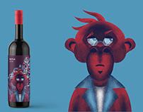 borcímke_terv//wine_label design