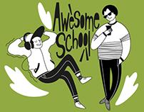 Illustrations for English school