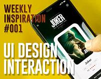 UI Design Interaction | Weekly Inspiration #001 | 2020