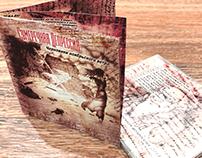 """Twilight Depression"" CD booklet art and design part 2"