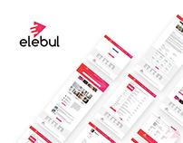 elebul - job board UI design