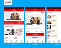 Redtag Mobile App design