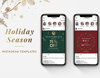 Holiday Season Instagram Templates