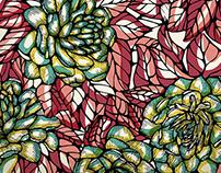 Flowered print
