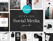 Stylish Canva Social Media Pack