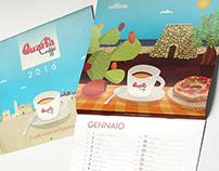 Calendario Quarta Caffè 2016