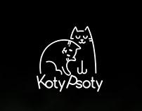 Koty Psoty - logo design