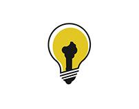 bjlight - logo design