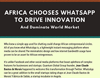 Africa chooses Whatsapp to Drive Innovation