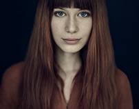 Portrait of model Jula from AS Management Agency