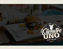 Desarrollo de marca Kilómetro Uno- Parrila/Bar