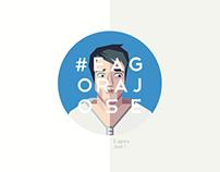 E Agora José - Web serie Logo