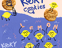 Kooky Cookies Packaging