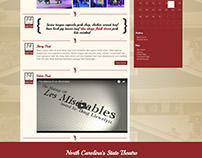 Flat Rock Playhouse Website Design