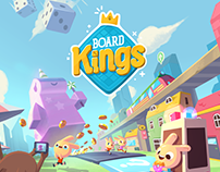 """Board Kings"" Concept Art"