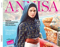 ANNISA MAGAZINE JUNE ISSUE