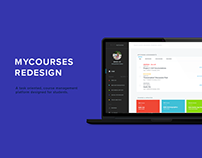 MyCourses Redesign