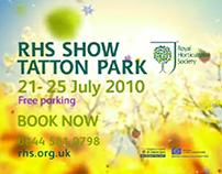RHS Flower Show Advert