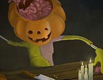 A punto de Halloween