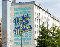 UNITED BY MUSIC • MURAL