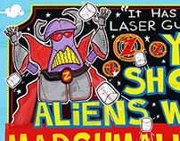 Buzz Lightyear Spaghetti Toes