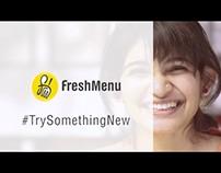Freshmenu - Try Something New - Alicia Crescencia Souza