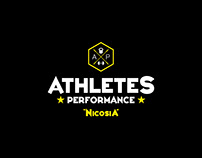 Athletes Performance Nicosia gym Brand Identity