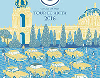 Illustration For Tour De Arita 2016
