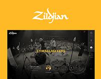 Zildjian Cymbals Redesign
