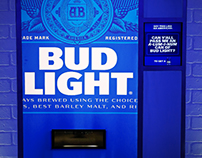 Bud Light | Vending machine