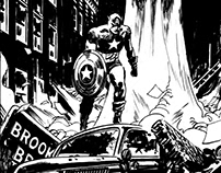 Captain America & Iron Man Commision