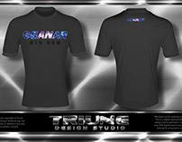 Ganar Gear Space Text Tshirt