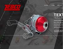 Zebco - Redesign